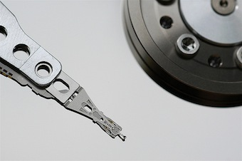 HDA, disk, disk head-media, Hard Disk by Jeff Kubina (cc) (from Flickr)